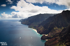 Napali Coast (Patrick.Burns) Tags: napalicoast napali coast shore hawaii kauai landscape sea water cliff island