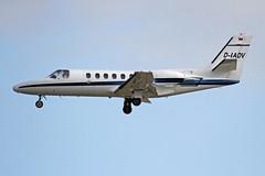 D-IADV EDDF 16-06-2017 (Burmarrad) Tags: airline private aircraft cessna 551 citation iisp registration diadv cn 5510552 eddf 16062017