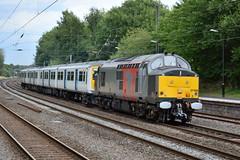 37884 Longbridge 13/07/2017 (Brad Joyce 37) Tags: 37884 319437 class37 class319 diesel locomotive engine train emu electricmultipleunit 5z94 longbridge westmidlands nikon d7100