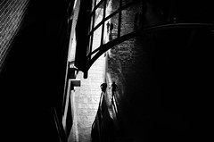 The Conversation (a g n è s) Tags: monochrome blackandwhite contrast bristol urban streets