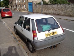 1986 RENAULT 5 GTL 1.4 (geccove) Tags: d48 urp white