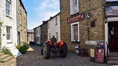 Old Fellsiders breaks the speed limit. (A tramp in the hills) Tags: fellsiders tractor