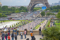 A Summer Scenery (julialarrigue) Tags: eiffeltower toureiffel paris summer