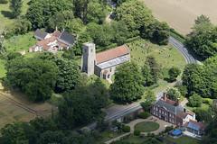 Tacolneston All Saints Church in Norfolk - aerial (John D F) Tags: church norfolk aerial aerialphotography aerialimage aerialview aerialimagesuk aerialphotograph viewfromplane droneview hires highdefinition hidef highresolution hirez britainfromtheair britainfromabove tacolneston