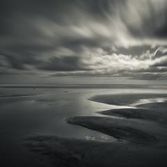 Sculpt (Peter Henry Photography) Tags: water sea sand beach longexposure light shadow curves sculpted sky nikon sigma 20mm