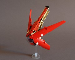 The Drone - Alternate View (Sydag) Tags: lego moc scifi space starfighter probe drone ship