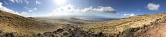 Panorama including Haleakala (kahunapulej) Tags: west maui mountains mount haleakala hawaii usa