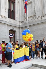 2017 Colombia Flag Raising-044 (Philly_CityRep) Tags: cityofphiladelphia colombia flag raising