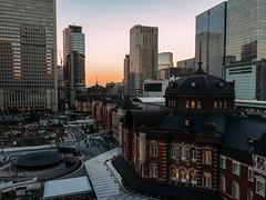 Tokyo Station  東京駅 (garygaldamez) Tags: japan japón travel travellers wanderlust iphone 5s photography streetphotography 日本 旅行 歩く dusk city