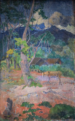Paul Gauguin - Landscape with a Horse, 1899 at Saint Louis Art Museum - St Louis MO (mbell1975) Tags: stlouis missouri unitedstates us paul gauguin landscape with horse 1899 saint louis art museum st mo saintlouis stl slam museo musée musee muzeum museu musum müze museet finearts fine arts gallery gallerie beauxarts beaux galleria painting impression impressionist impressionism french
