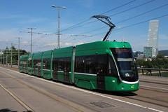 5021 (200er Serie) Tags: tram drämmli schienenfahrzeug bvb basler verkehrsbetriebe grün flexity bombardier