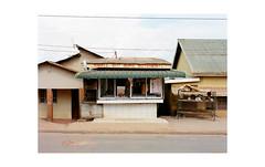 small but sure butchery, kampala (jeffasteinberg) Tags: kodak portra 400 mamiya 645af mediumformat analog film kampala uganda africa streetphotography urban landscape jeffasteinberg 120 travel neighborhood