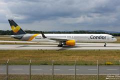 Condor --- Boeing 757-300 --- D-ABOK (Drinu C) Tags: adrianciliaphotography sony dsc rx10iii rx10 mk3 fra eddf plane aircraft aviation condor boeing 757300 dabok 757