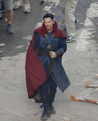 UHQ Avengers: Infinity War Set Pictures (anythingdoctorstrange) Tags: avengers infinity war atlanta usa 28 jun 2017 cast members benedict cumberbatch works during filming set is modeled after a new york city street celebrity entertainment arts united states north america georgia 60710700 benedictcumberbatch markruffalo avengersinfinitywar robert downey jr