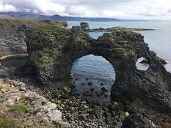 Basalt Arch near Arnarstapi