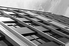 IMG_6663 copy (ruby_ea) Tags: angle blackandwhite brighton windows reflection reflect