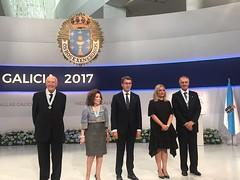 """Entrega de """"Medallas de Galicia 2017"""""""