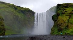 Skógafoss waterfall (Meino NL) Tags: skogar skógafoss waterval waterfall waterfallskógafoss skógárivier ijsland iceland