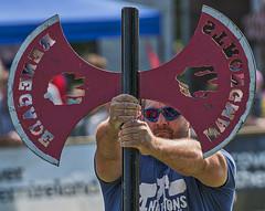 The Axe Man (squirrel.boyd) Tags: dalriadafestival glenarm strongman axe strength