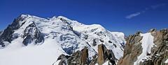 Le Mont Blanc (4808m) depuis l'aiguille du Midi (3842m) (claude lina) Tags: claudelina france rhônealpes alpes savoie montblanc aiguilledumidi