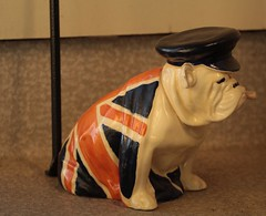 Churchill Bulldog (annapolis_rose) Tags: flickrfriday madenomore churchill churchillbulldog royaldoulton unionjack