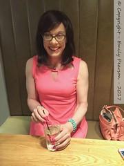 July 2017 - Hull weekend with Gemma (Girly Emily) Tags: crossdresser cd tv tvchix tranny trans transvestite transsexual tgirl tgirls convincing feminine girly cute pretty sexy transgender boytogirl mtf maletofemale xdresser gurl glasses dress wetherspoons admiralofthehumber admiral hull