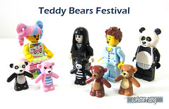 Teddy Bears Festival (WhiteFang (Eurobricks)) Tags: lego collectable minifigures series city town space castle medieval ancient god myth minifig distribution ninja history cmfs sports hobby medical animal pet occupation costume pirates maiden batman licensed dance disco service food hospital child children knights battle farm hero paris sparta historic ninjago movie sensei japan japanese cartoon 20 blockbuster cinema
