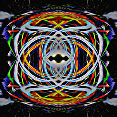 Tribal (Thunder1203) Tags: hdr abstract colour craze digitalart edit fad pattern photoshop psycedelic twirl twirling