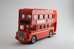 British London bus (tyfighter07) Tags: lego british britain battleofbritain battle london bus wheel wheels red window old public transport transportation england car vehicle custom brickbuilder7 brick