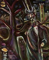 Transylvania Boogie (The Big Jiggety) Tags: vampire dracula tophat mystery night oil canvas huile toile oleo tela cuadro tableau painting peinture pintura art arte kunst transylvania horror horreur dark nuit notte noche nacht