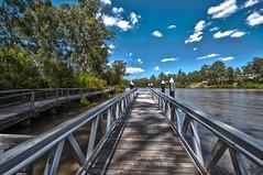 River Walk (mickhail93) Tags: hdr walk river boardwalk sky nature landscape nikon