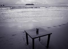 Calm down (G.omez) Tags: beach sand costarica manuelantonio chill blackandwhite canon5d