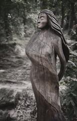 Mother earth (uhx72) Tags: harz sculpture art artwork mountain germany bw sepia harzeum figure statue