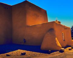 Adobe Church (Santa Fe -- Taos Fine Art Photography) Tags: santafe taos saint francis assisi san francisco asis georgia ofeeffe paul strand ansel adams mission adobe mud timber