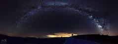 MilkyWay_July 2017_3 (MSB.Photography) Tags: nocturna night estrellas stars sony nex7 landscape paisaje españa panorámica panoramic spain airelibre cielo vialactea milkyway longexposure largaexposicion samyang 12mm nightscape noche montañas observatorio observatory