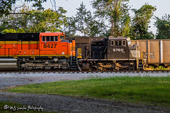 BNSF 8427 | SD70ACe | NS Memphis District (M.J. Scanlon) Tags: bnsf bnsfrailway bnsfthayersouthsub burlingtonnorthernsantafe burlingtonnorthernsantaferailway ns nsmemphisdistrict nsmemphisdistrictwestend norfolksouthern coal loaded empty broadway tower17 emd hopper sd70ace sd60i plantmiller conrail cr digital transportation merchandise commerce business wow haul outdoor outdoors move mover moving scanlon canon eos unit engine locomotive rail railroad railway train track horsepower logistics railfanning steel wheels photo photography photographer photograph capture picture trains railfan bnsf8427 ns6760 cr5650