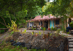 Local guesthouse for tourists, Malampa Province, Ambrym island, Vanuatu (Eric Lafforgue) Tags: a0011553 ambrymisland architectural architecture buildingexterior builtstructure colourimage day developingcountries exterior fanla guesthouse home horizontal house indigenousculture newhebrides nivanuatu nonurbanscene oceania outdoors pacificislands pacificocean palmleaf photography residentialbuilding residentialstructure rural rustic simplicity southpacific thatchedhut thatchedroof tourism traditional traveldestinations tribal tribe typical vanuatu village wood malampaprovince vut