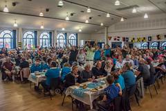 Joining in the Regatta song - 1 (Matchman Devon) Tags: classic channel regatta 2017 paimpol crew supper