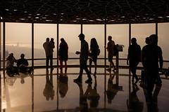 Views from the Burj Khalifa (Dubai, United Arab Emirates 2017) (Alex Stoen) Tags: alexstoenphotography burjkhalifa geotagged leicamptyp240 ngexpeditions observationdeck silhouettes sky summiluxm35mm travel uae unitedarabemirates vacation