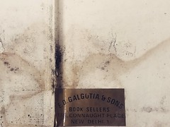 On Coming Face-to-Face with a Bookshop That No Longer Exists (Mayank Austen Soofi) Tags: on coming facetoface with bookshop that no longer exists galgotia books