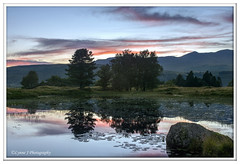 Untitled_Panorama1 (Lynne J Photography) Tags: cumbria lakedistricy kellyhalltarn sunrise nikon tarn reflection sunset lonetree lone tree waterfalls longexposure tomgillfalls