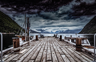 Storm Over The Jetty