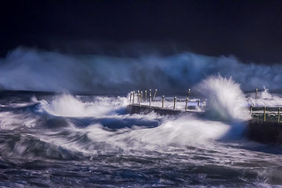 stormy seas at South Curl Curl pool, Sydney, May 2011  #5932