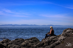 Can Life Get Any Better Than This?! (Selkii's Photos) Tags: britishcolumbia canada seascape strait straitofjuandefuca vancouverisland water lowtide portrenfrew ca