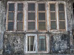 Mumbai 2015 (hunbille) Tags: india mumbai birgittemumbai1lr walkeshwar temple complex walkeshwartemple window malabarhill malabar hill bangangatank banganga tank lake bombay