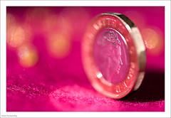 Queen - HMM (John Penberthy LRPS) Tags: 105mm d750 johnpenberthy nikon queen bokeh closeup coin macro macromondays