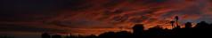 Sunset July 26 2017 #41 Panorama e (Az Skies Photography) Tags: sun set sunset dusk twilight nightfall cloud clouds sky skyline skyscape skycandy skyfire red orange yellow gold golden salmon black canon eos 80d canoneos80d eos80d rio rico arizona az riorico rioricoaz arizonasky arizonaskyline arizonaskyscape arizonaskycandy arizonaskyfire july 26 2017 july262017 72617 7262017 panorama