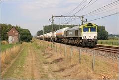 CLASS 66 CAPTRAIN 6609 BAEXEM 06072017 (W. Daelmans) Tags: captrain 6609 class 66 baexem nederland