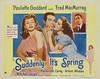 Suddenly It's Spring (1947, USA) - 02 (kocojim) Tags: publishing kocojim poster advertising movie film fredmacmurray illustration motionpicture movieposter paulettegoddard
