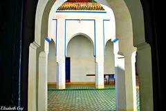 MAROCCO 01-2015- 040 (Elisabeth Gaj) Tags: maroco012015 elisabethgaj marocco marrakech afryka travel architecture bahiapalace